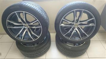 BMW X6 RIms and Tyres
