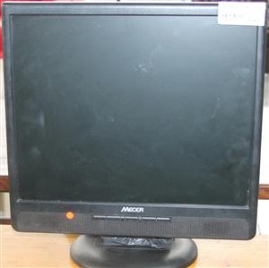 S034278A Mecer monitor with VGA cable and power cable #Rosettenvillepawnshop