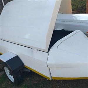 glider 6 foot trailer with tailgate