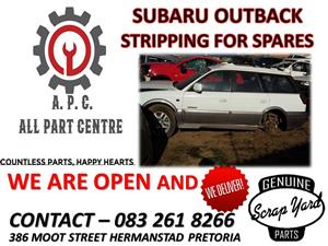 Subaru Outback used spares for sale