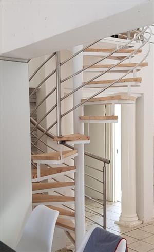 Steel Spiral Stairways