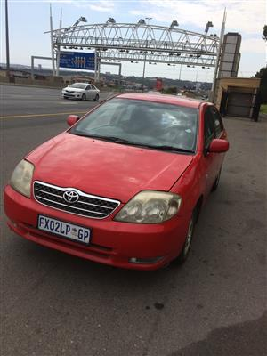2002 Toyota Corolla 1.6 Advanced