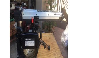 ROCKWELL RADIAL ARM SAW 1-inch In excellent condition. Circa R10 000
