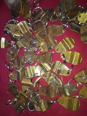 Bottle opener/keyrings