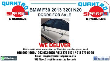 Bmw f30 2013 320i n20 doors for sale