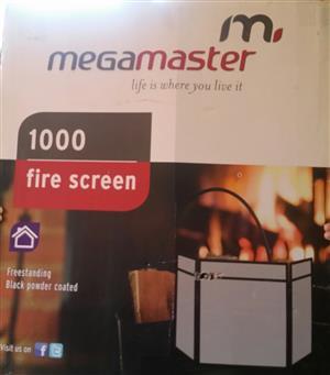 MEGA MASTER  FIRE SCREEN