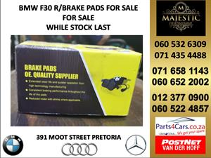 Bmw f30 brake pads for sale