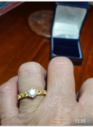 0.74ct diamond ring for sale  Other Gauteng