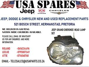 JEEP GRAND CHEROKEE HEAD LAMP (FOR SALE)