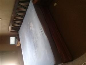 King size bed - Sleeper wood