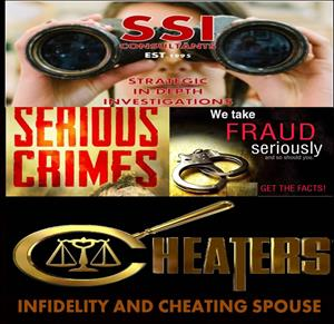 PRIVATE INVESTIGATORS IN SOUTH AFRICA WE ARE BASED NATIONWIDE SSICONSULTANTS EST.1995 T/A STRATEGIC IN-DEPTH INVESTIGATIONS OUR ALL HOURS NUMBER 0824121149/0110261412 WHATSAPP 0780071412  WE ARE AVAILABLE THROUGHOUT THE FESTIVE SEASON 24/7 CREDIT CARDS ACCEPTED