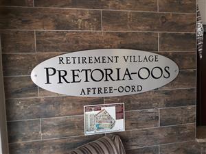 1 Bedroom apartment in Pretoria East Retirement Village to rent