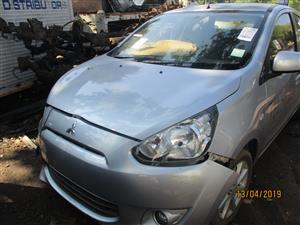 MITSUBISHI MIRAGE GREY STRIPPING FOR SPARES
