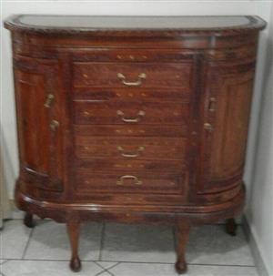 Unique Half-round Cabinet
