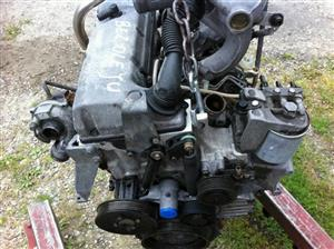Complete Second hand used engines MUSSO 2.3L, OM 601
