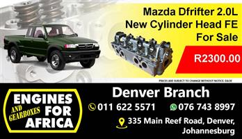 New Mazda Drifter 2.0L Cylinder Head FE for sale at Engines for Africa