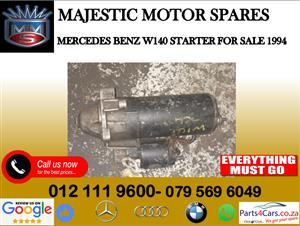 Mercedes benz W140 starter for sale