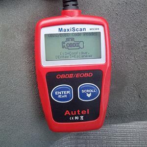 AUTEL MS309 Car Vehicle Scanner Diagnostic Tool Code Reader EOBD OBD2 OBDI