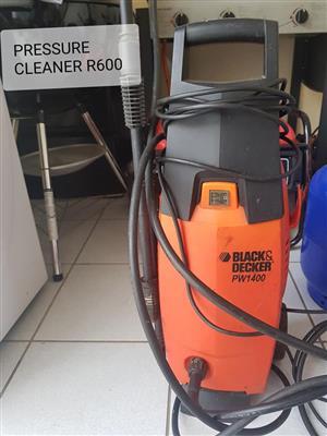 Black and Decker pressure cleaner