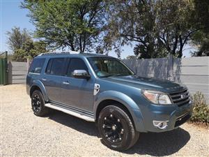 2012 Ford Everest 3.0TDCi XLT