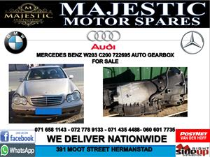 Mercedes benz W203 c200 722695 auto gearbox for sale used