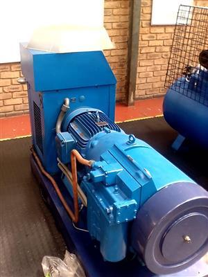 Two hydrovanes refurbish18.5 kW compressors