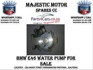 Bmw e47 water pump for sale