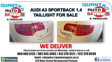 Audi Q3 2.0 tfsi 2014 Taillights for sale