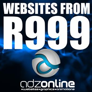 Website Designs From R999