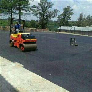 Tar Pave Contraction