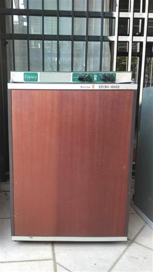 Gas operated bar fridges (used)