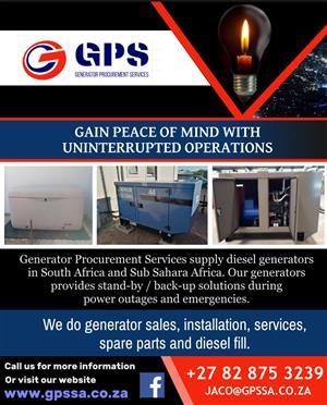 Generator Procurement Services