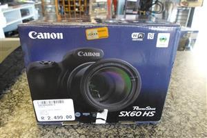 Canon SX60 HS Powershot Camera