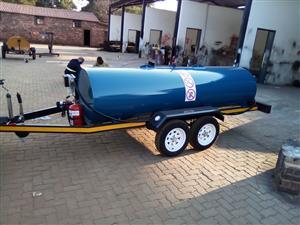 NEW 2000L diesel bowser