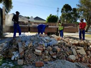 Demolition and rubble removal services in GAUTENG