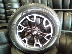 18 inch Toyota Hulix/ Fortuner Legend 50 with brand new tyres R14000.