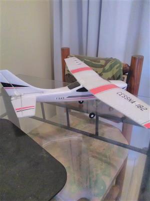Remote control aeroplane