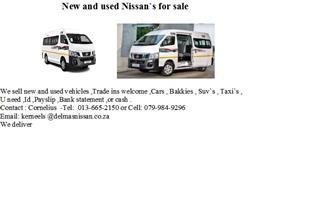 2020 Nissan NV350 panel van wide body 2.5i