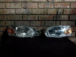 Ford Bantam Facelift Headlights