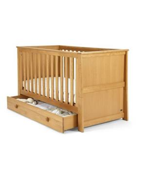 Pine Baby Cot Standard Size