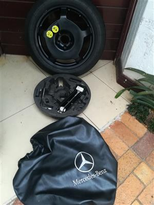AMG GLA45 Mercedes 18 inch Skinny Spare Wheel kit R4950