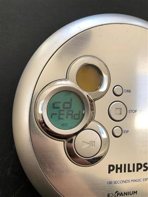 Philips Portable MP3-CD Player EXP2460 - CD Walkman for sale  Cape Town - Northern Suburbs
