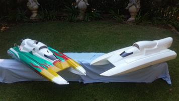RC Boat plus a new hull