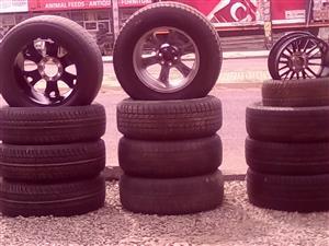 4x4 Tyres, Bakkie tyres n mag rims