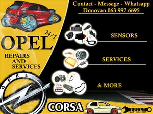 OPEL 24-7 REPAIRS AND SERVICES
