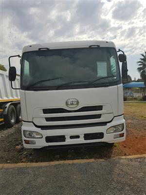 2009 Nissan UD460, 12Cube tipper truck for sale