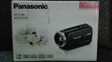 PANASONIC HD CAMCORDER CAMERA - NEW