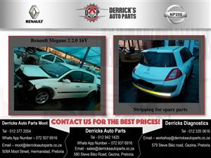 Renault Megane 2 Stripping For Used Spares