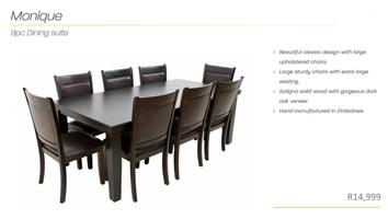 PERILLI Monique Dining Set