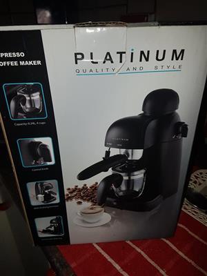 Plantinum expresso machine